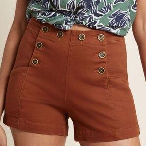 ModCloth Start off Stylish high waisted shorts